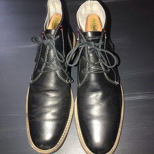 Penguin lace up dress boots size 8 1/2